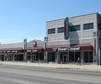 'O' Street Carpet showroom